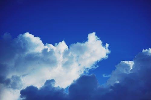 Immagine gratuita di alto, atmosfera, cielo azzurro