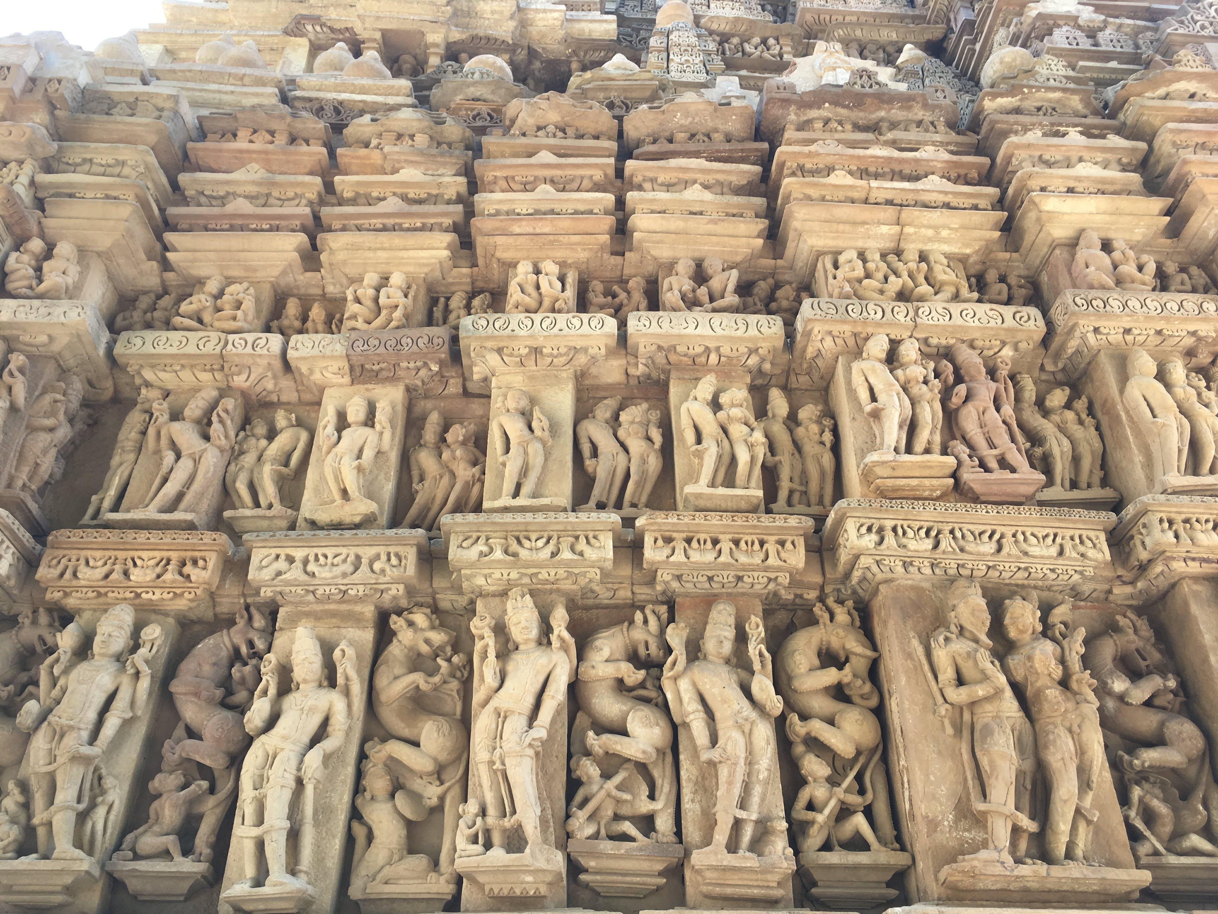 Free stock photo of ancient, god, house of god, india