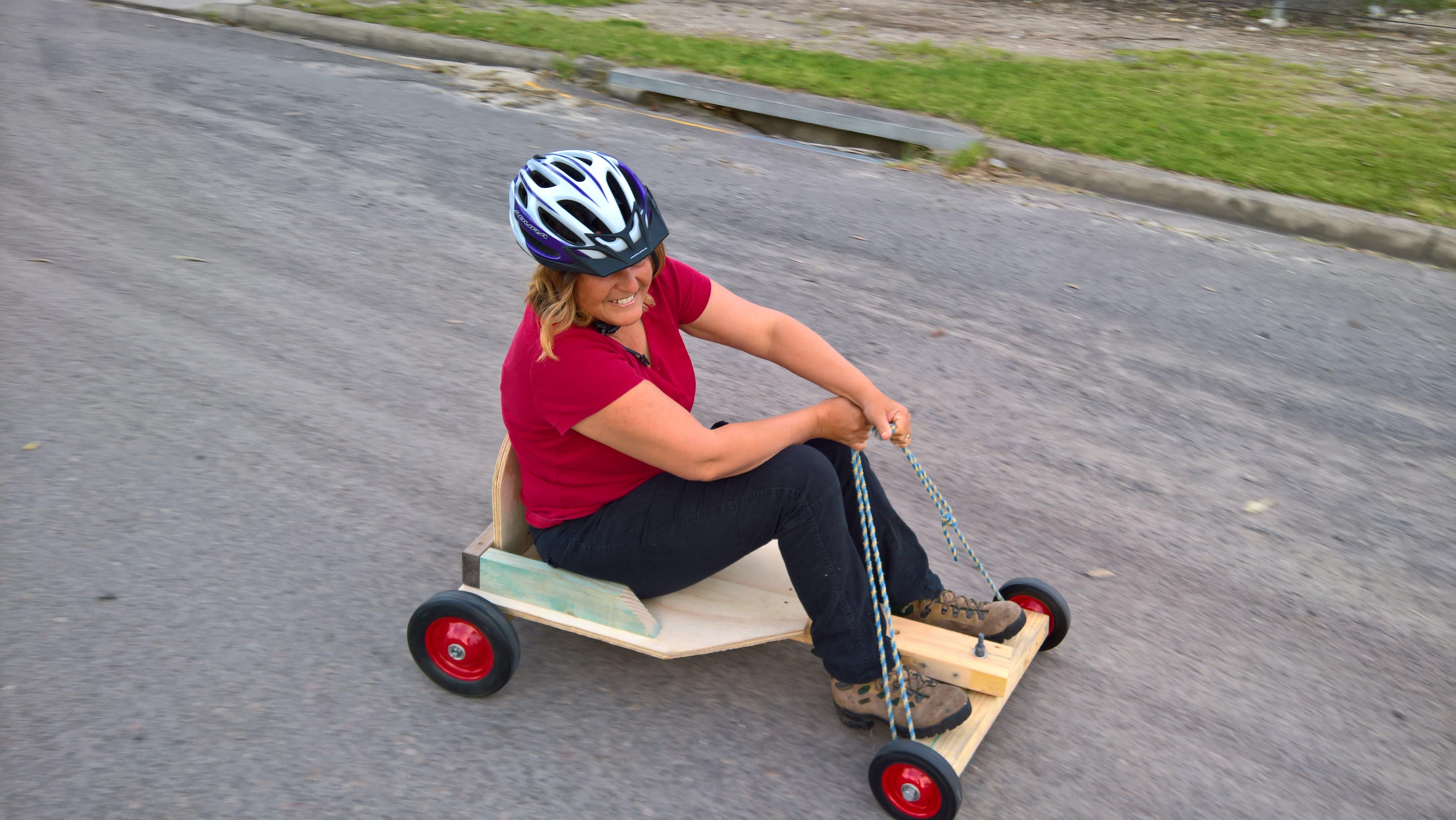 Free stock photo of billy cart, having fun