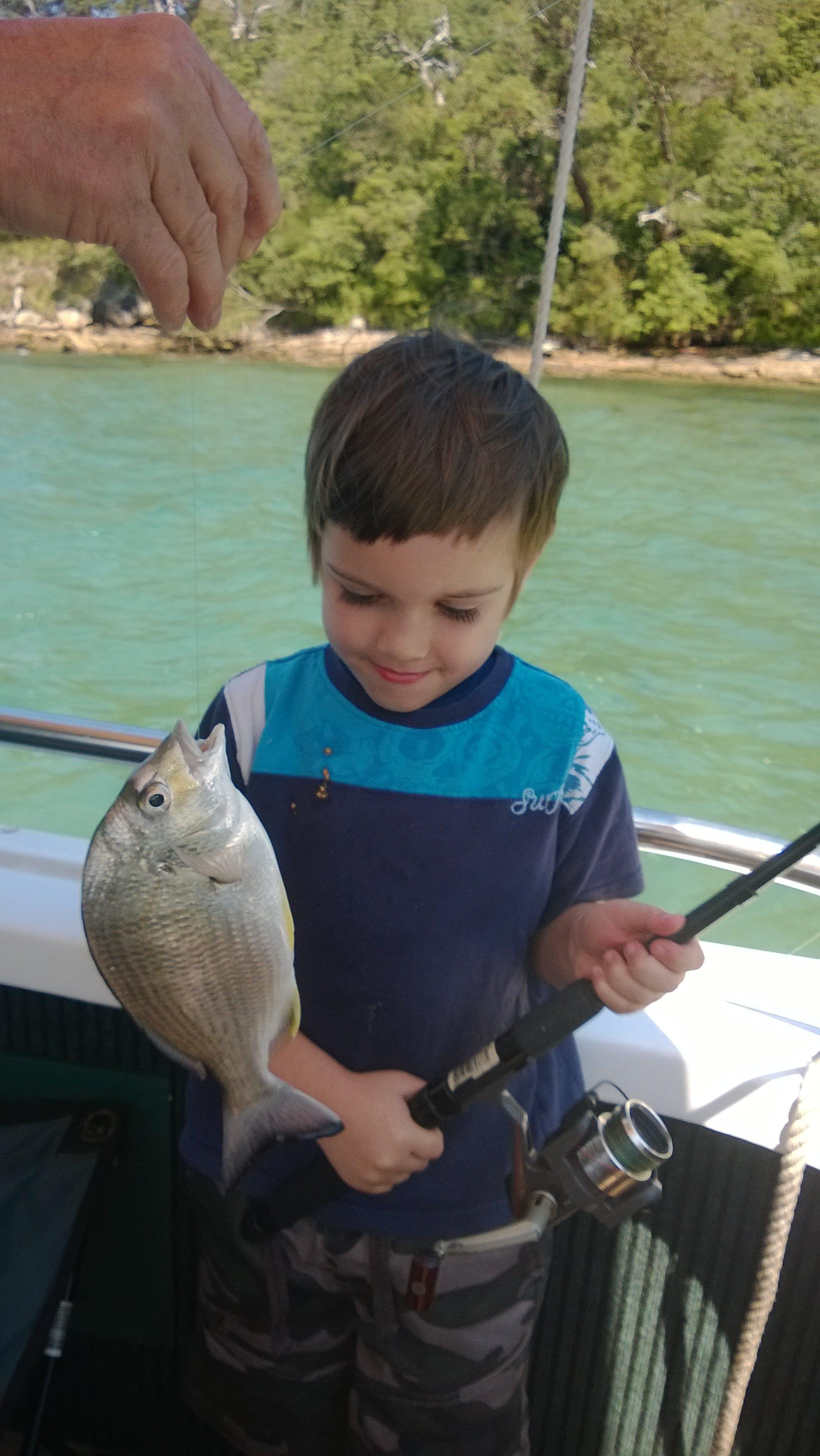 Free stock photo of fishing, kids, kids fishing