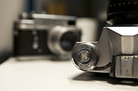 camera, vintage, photo