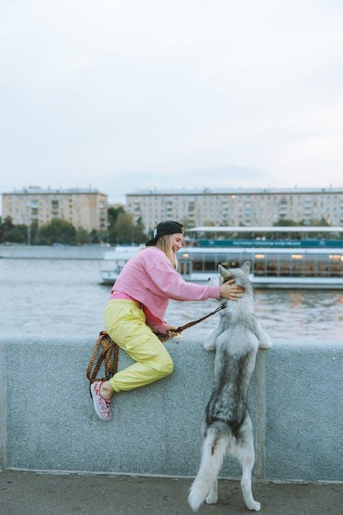 Darmowe zdjęcie z galerii z deskorolka, dorosły, dziecko