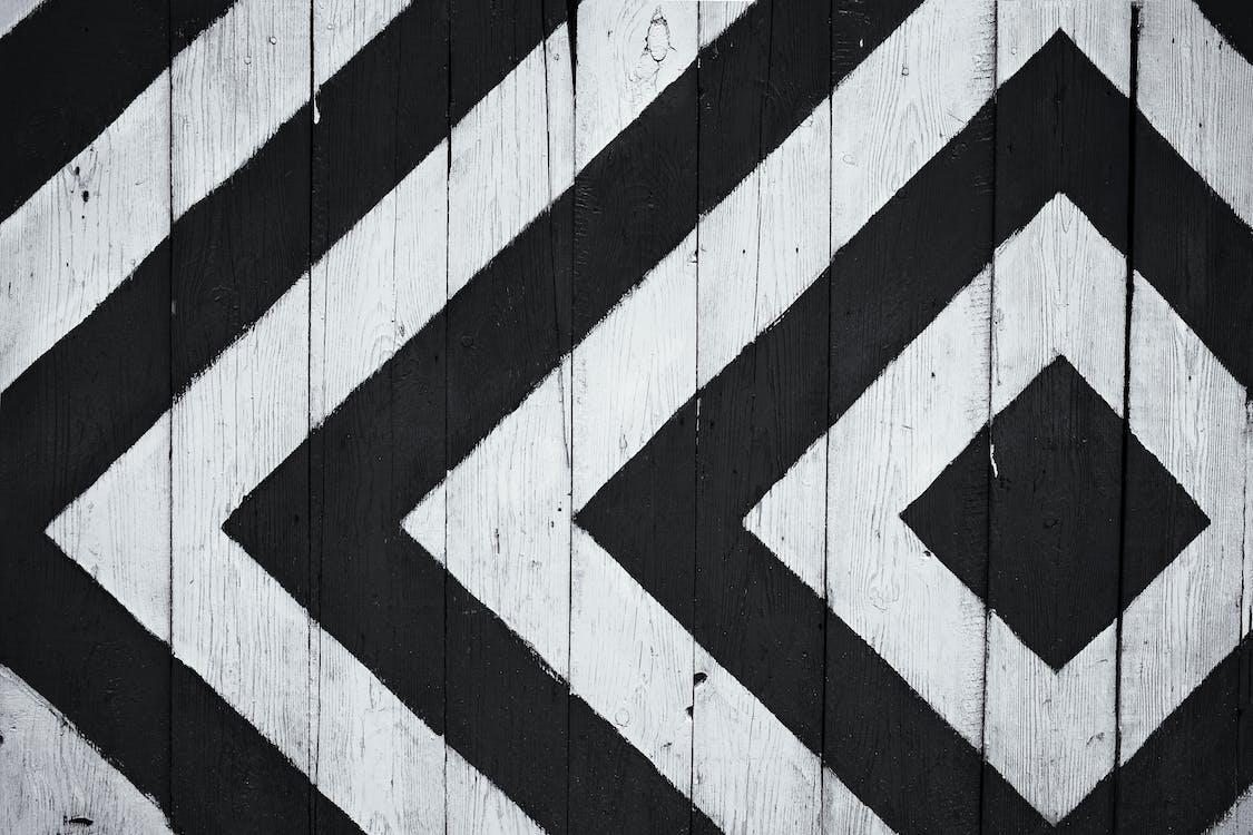 bianco e nero, design, graphic design