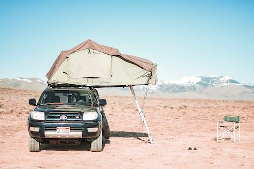 Camper Truck on the Desert
