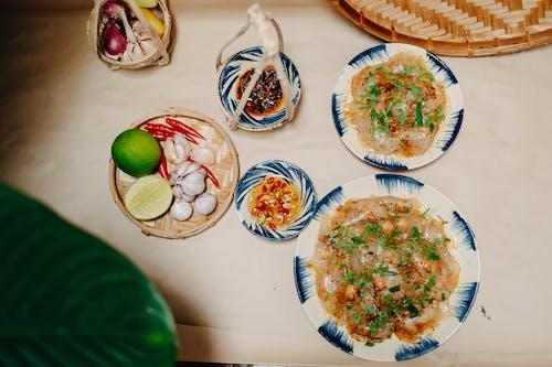 俯視圖, 傳統食物, 可口 的 免費圖庫相片