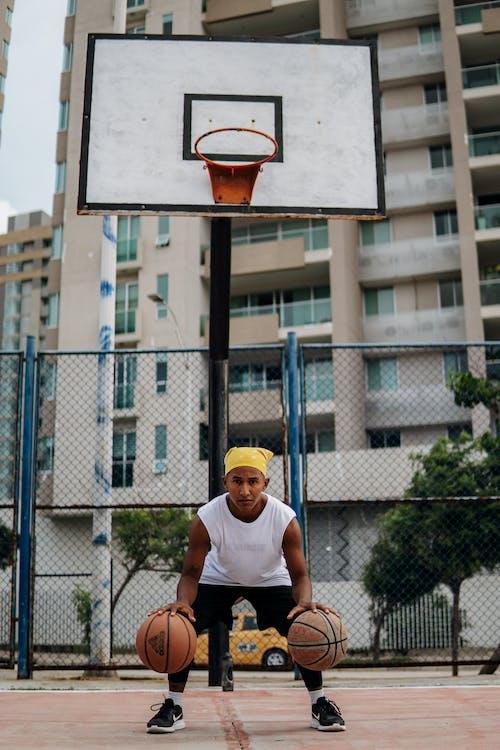 Immagine gratuita di adulto, anello di basket, attrezzatura sportiva