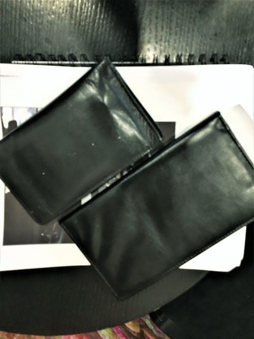Free stock photo of black, credit card holder, long