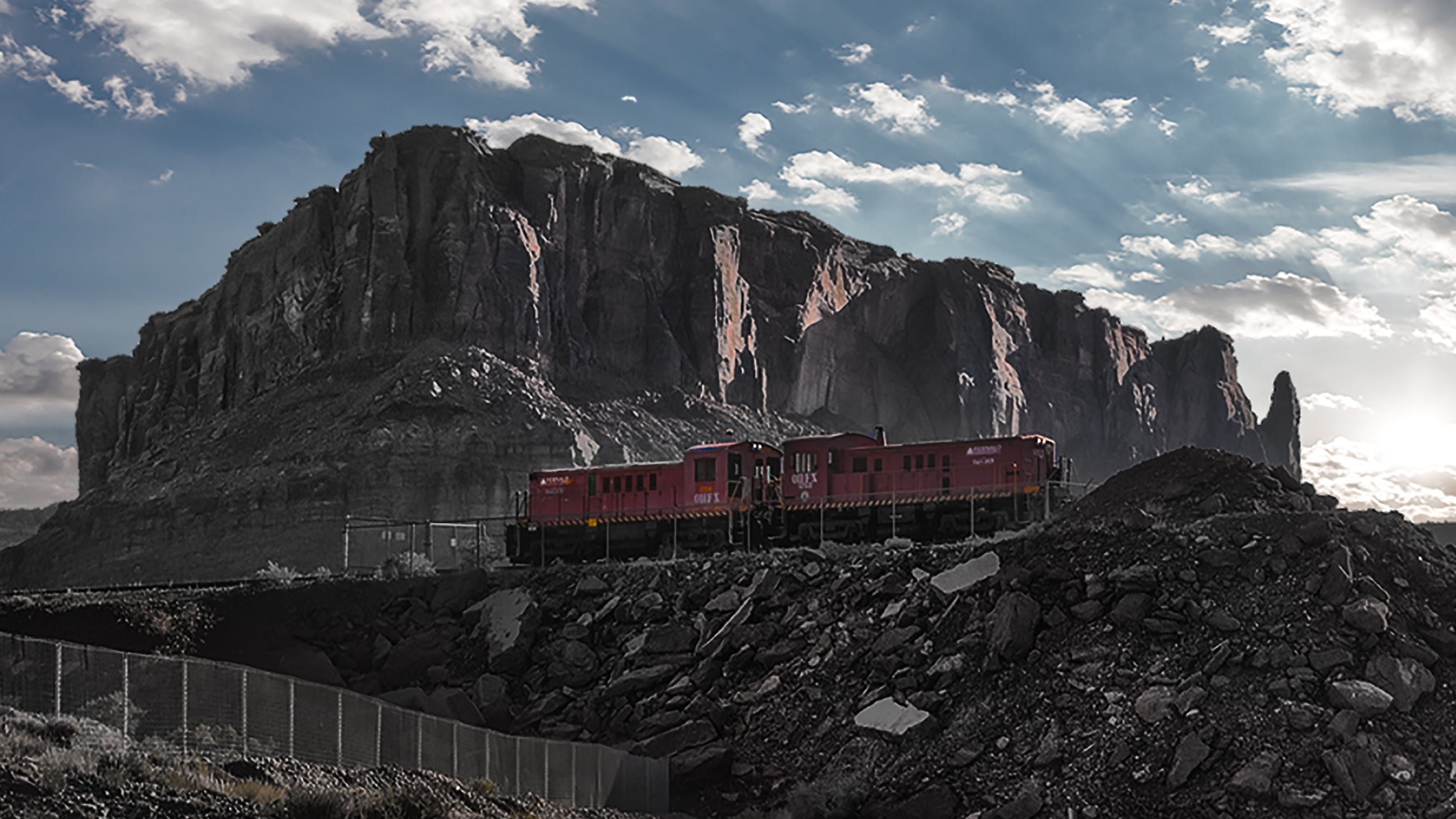 Free stock photo of moab, train, train tracks, utah