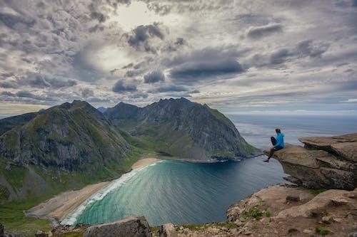 Darmowe zdjęcie z galerii z fiord, góra, jezioro