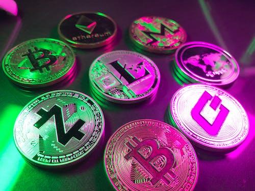 暗号通貨の無料の写真素材