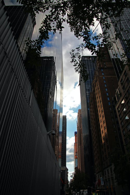 Kostnadsfri bild av arkitektur, byggnader, gata, himmel