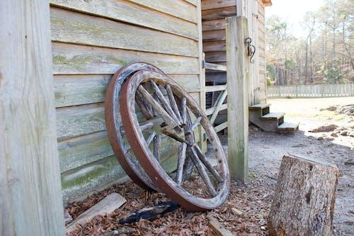 Gratis lagerfoto af vognhjul