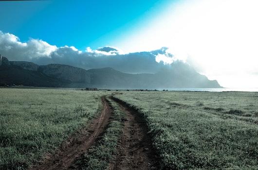 Kostenloses Stock Foto zu meer, berge, natur, strand