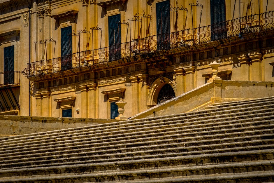 New free stock photo of stairs, landmark, building