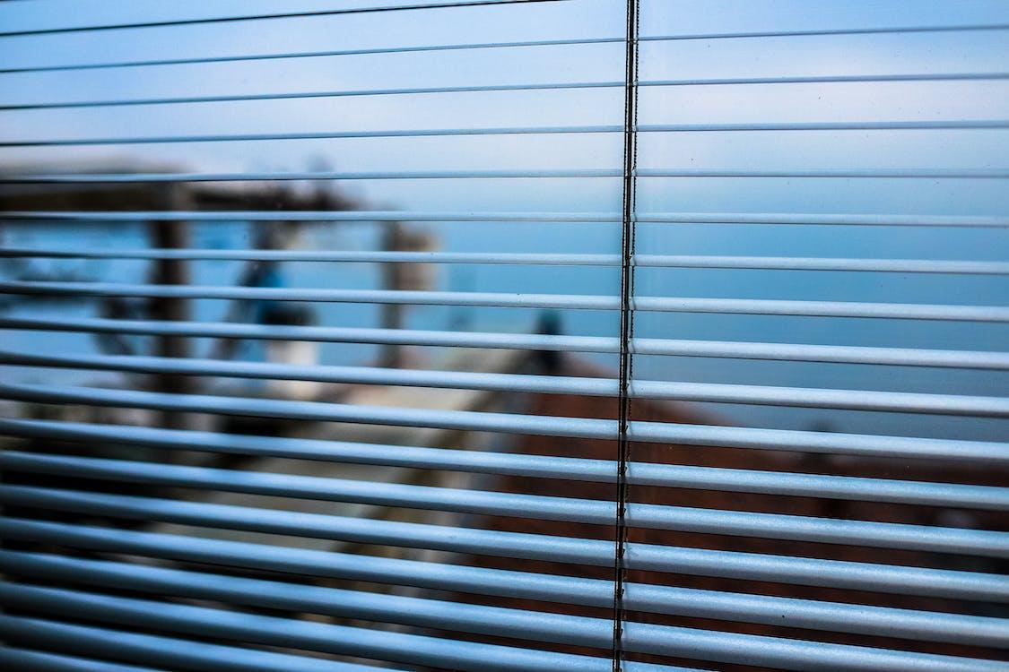 Open Window Blinds