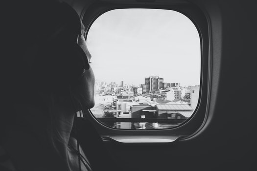 Free stock photo of black-and-white, person, woman, train