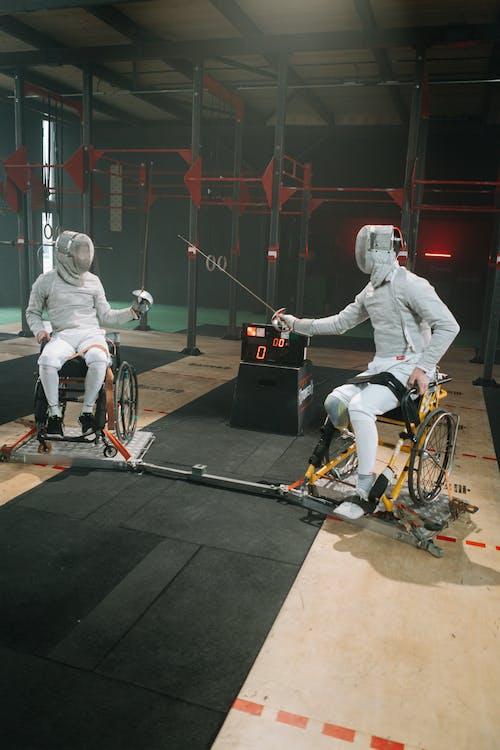 Foto profissional grátis de adulto, atletas, cadeira de rodas