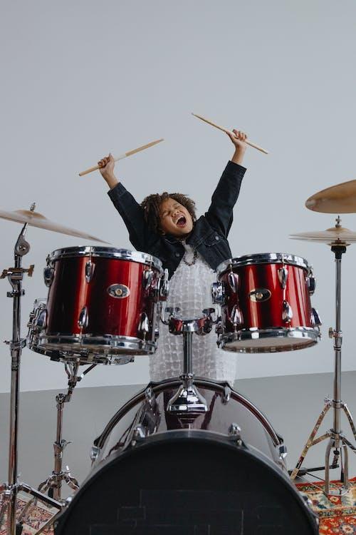 Kostnadsfri bild av band, barn, bas trumma