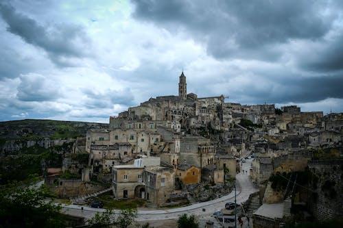 城鎮, 灰濛蒙, 義大利, 雲 的 免费素材照片