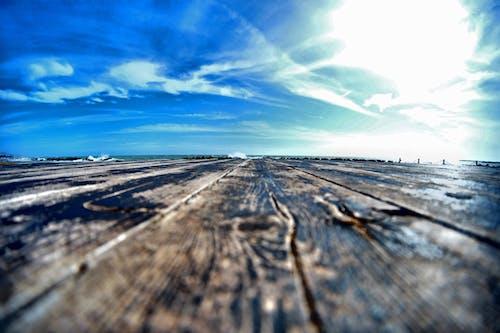 原本, 天空, 景深, 海 的 免费素材照片