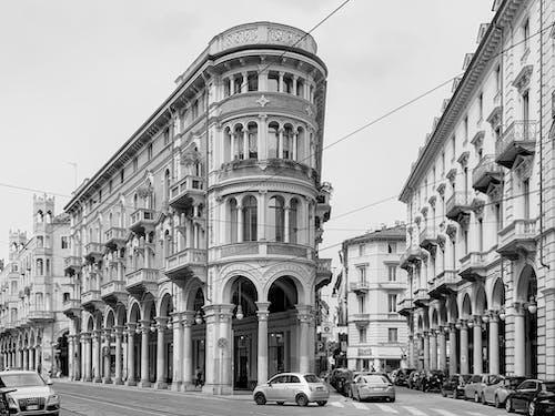 Immagine gratuita di architecture, architettura, bianco e nero