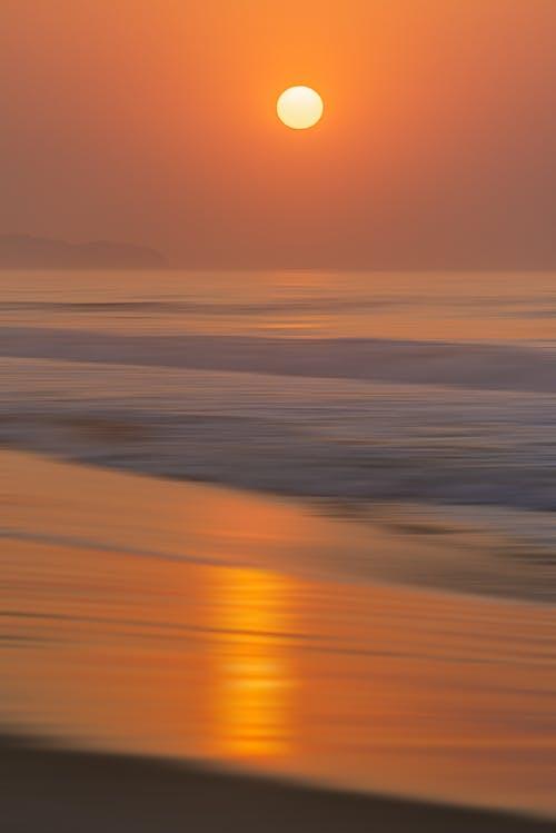 Photos gratuites de aube, brillant, coucher de soleil