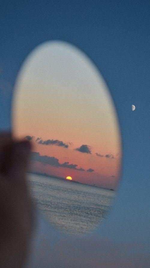 Foto stok gratis bagian dari, berbayang, bulan