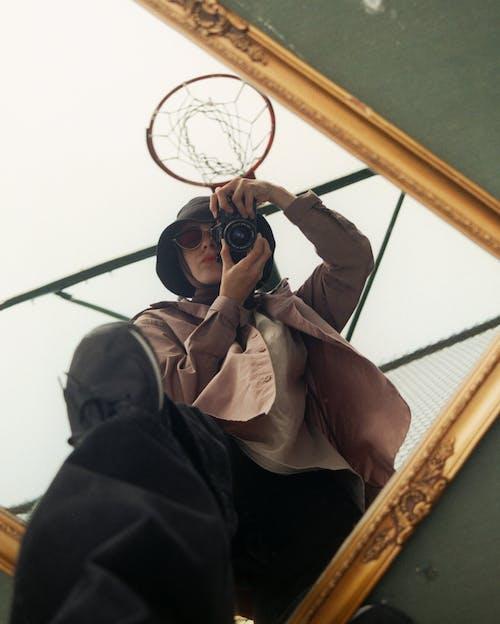 hijabi, 低角度视图, 創造力 的 免费素材图片