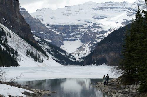 คลังภาพถ่ายฟรี ของ ความรัก, ทะเลสาบหลุยส์, ธรรมชาติ, น้ำ