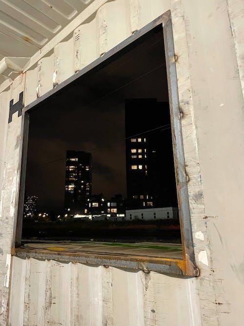 Free stock photo of by the window, city, dark night