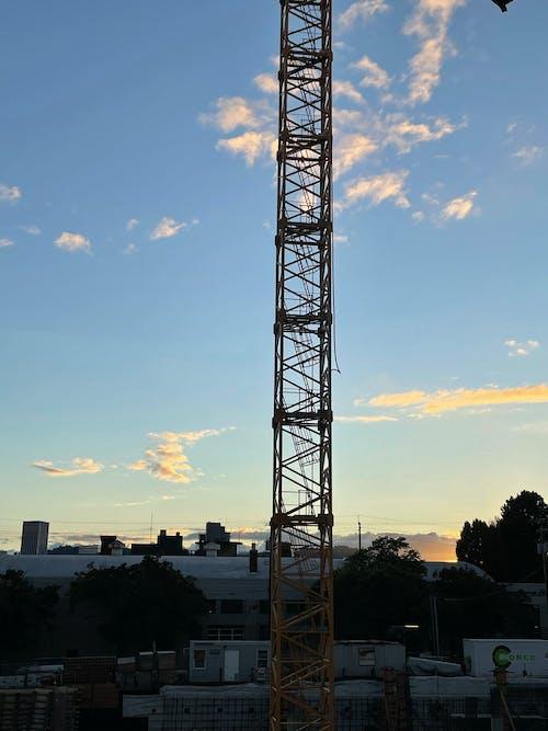 Free stock photo of city, crane