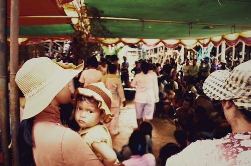 寶寶, 小孩, 柬埔寨 的 免费素材照片