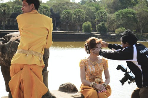 姻緣, 寺廟, 柬埔寨 的 免费素材照片