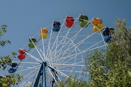 Бесплатное стоковое фото с веселье, голубой, день