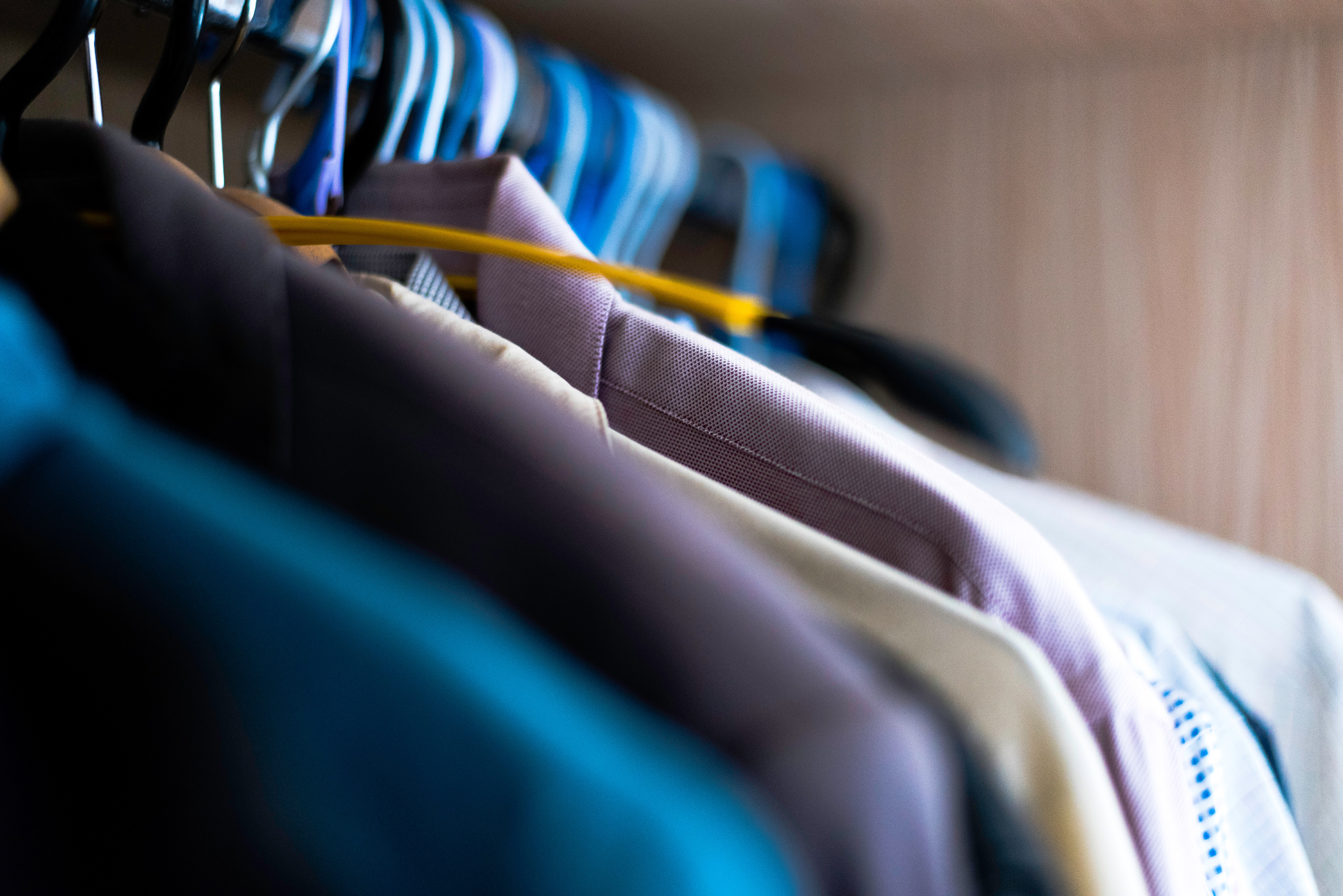 Pile Of Shirts Hanged In Shirt Rack 183 Free Stock Photo