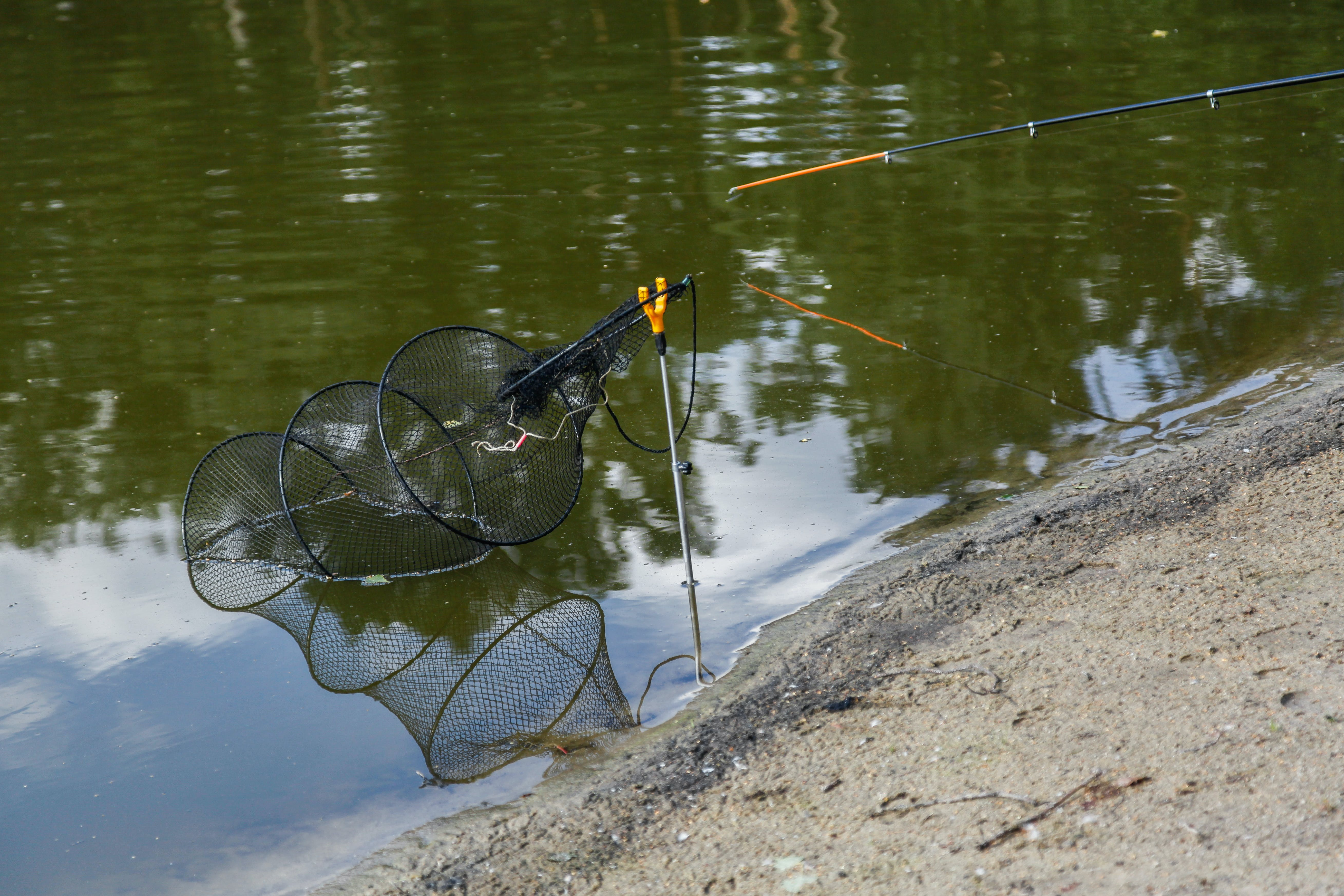 Free stock photo of fishing, fishing net, fishing-net, hobby