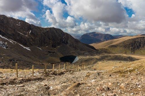 bulutlar, çöl, dağ, doğa içeren Ücretsiz stok fotoğraf