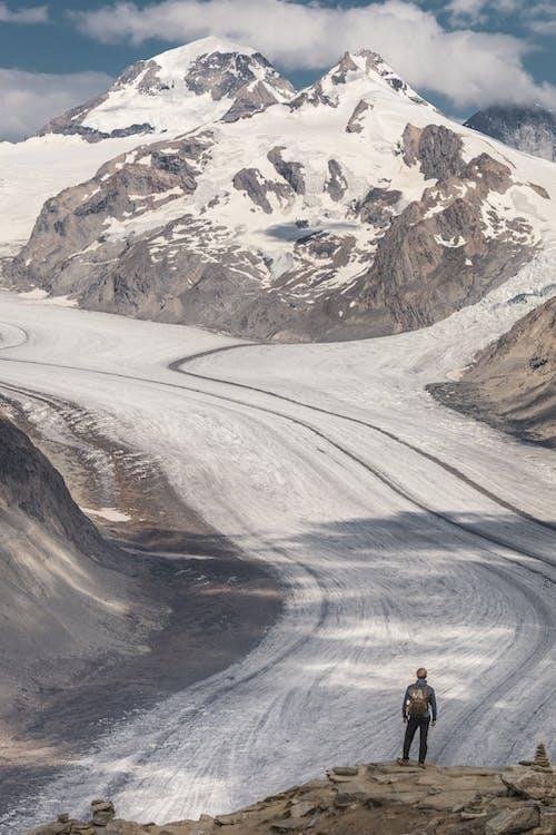 คลังภาพถ่ายฟรี ของ การปีน, การปีนเขา, การผจญภัย
