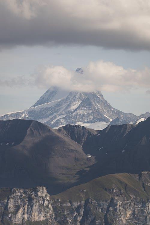 คลังภาพถ่ายฟรี ของ จุดสูงสุด, ท้องฟ้า, บนภูเขา