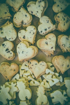 Heart Form Biscuits