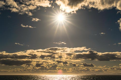 Darmowe zdjęcie z galerii z chmury, dramatyczny, horyzont, jasne kolory