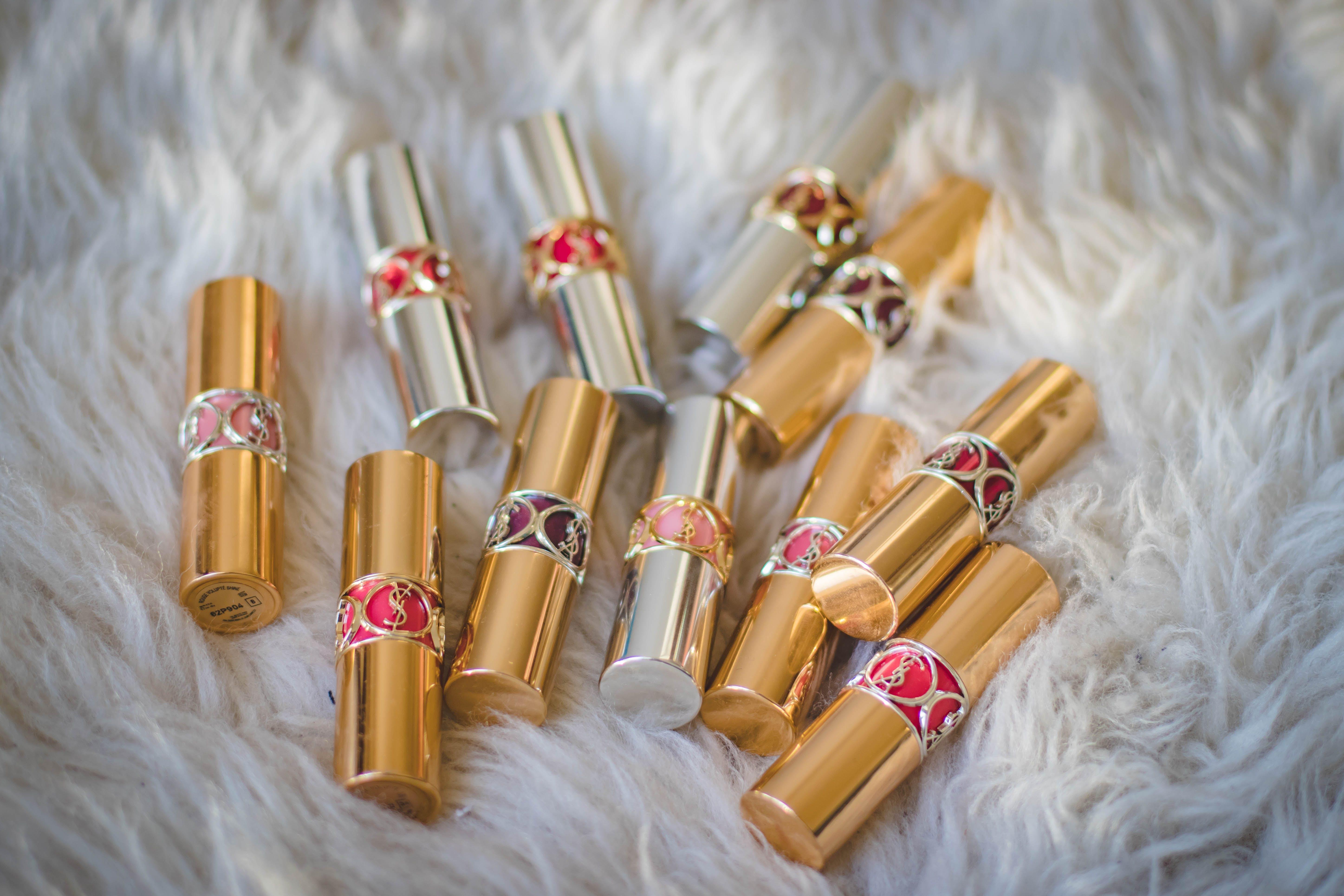 Brown Lipstick Lot