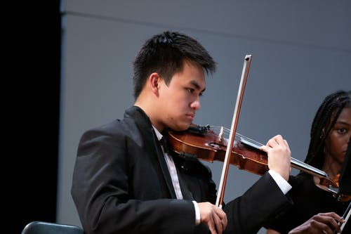 Free stock photo of asian male, concert, high school