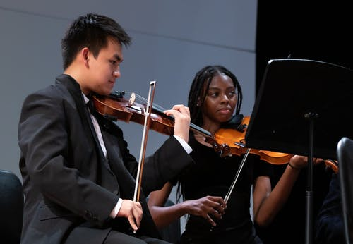 Free stock photo of classical music, concert, high school