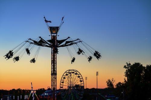 Photos gratuites de amusement, aube, carnaval