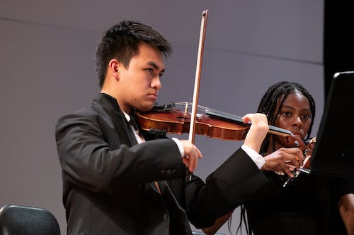Free stock photo of asian student, classical music, concert