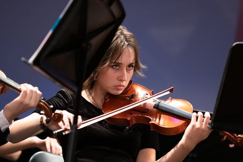 Free stock photo of classical music, concert, female