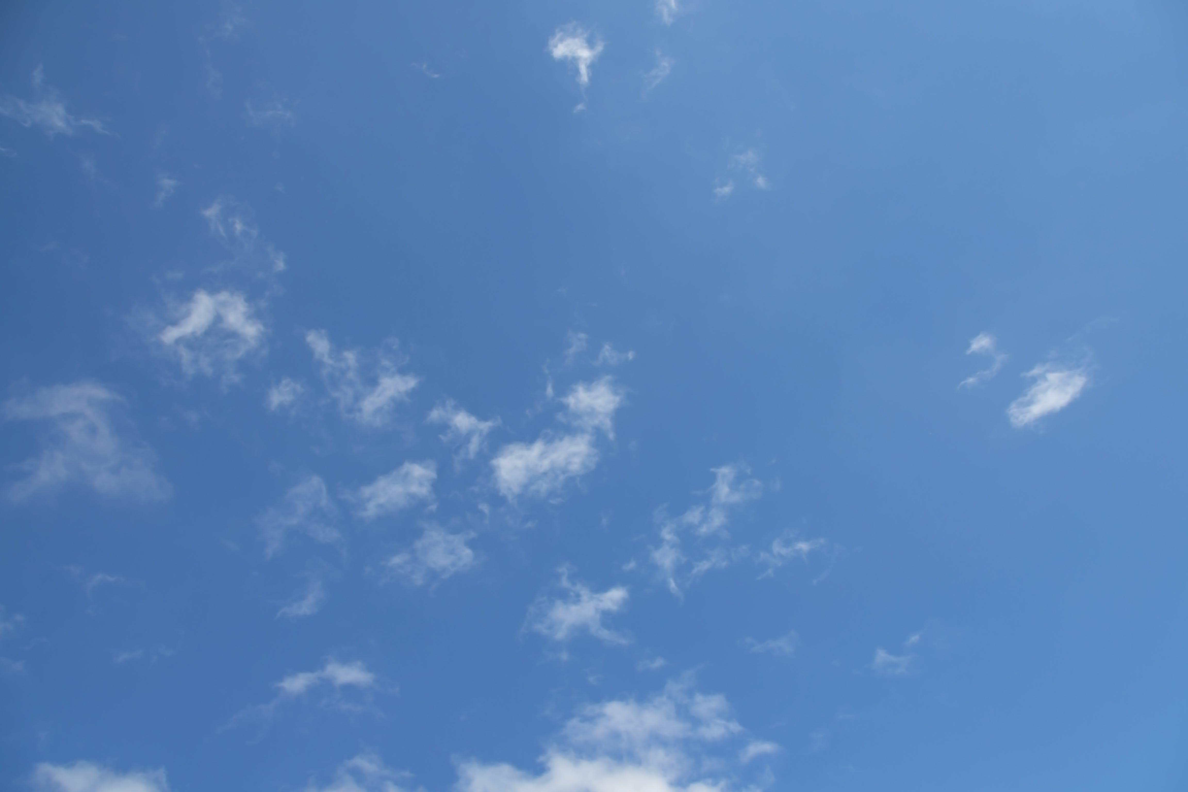 Foto stok gratis alam, angin, awan, bening