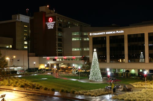 Free stock photo of christmas, hospital