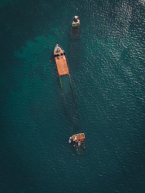Gratis stockfoto met avontuur, blauwe achtergrond, boot